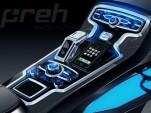 Preh console