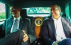 "President Obama visits with Jerry Seinfeld on ""Comedians in Cars Getting Coffee"""