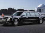 President Obama's limousine