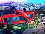 Preview of Ferrari Land theme park set to be built in Barcelona, Spain