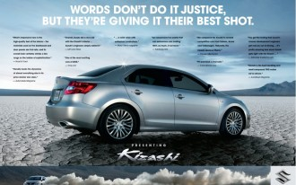 Suzuki Aims To Up Its Image With A Campaign For The 2010 Kizashi