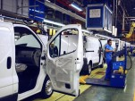 Production of Renault Trafic. Barcelona Factory