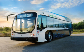 New electric bus runs 1,100 miles on a single charge