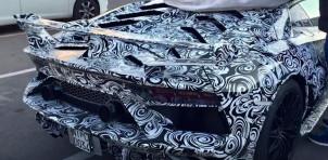 Prototype for more extreme Lamborghini Aventador