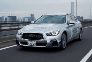 Prototype for Nissan and Infiniti's ProPilot self-driving system