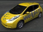 Prototype of 2012 Nissan Leaf as New York City taxi cab