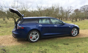 QWest Tesla Model S wagon