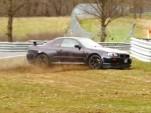 R34 Nissan Skyline GT-R crash at the Nürburgring