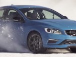 Racing driver Scott McLaughlin tests the 2015 Volvo S60 Polestar