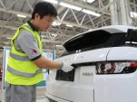 Range Rover Evoque producton at Jaguar Land Rover's Chinese plant