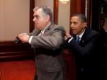 Ray LaHood and President Barack Obama
