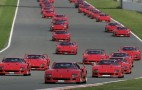 Gathering Of Ferrari F40s Smashes World Record At Silverstone