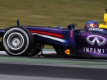 Red Bull Racing during testing for the 2013 Formula One season