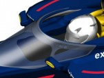 Red Bull Racing presents Formula One cockpit protection system