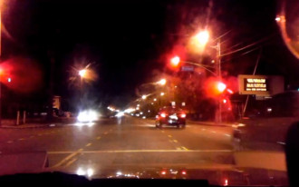 Chilling IIHS video shows dangers of running a red light