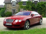 Red Bentley Continental GT