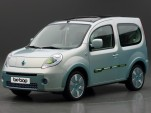 Renault Kangoo be bop ZE electric vehicle