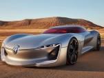 Renault Trezor concept, 2016 Paris auto show