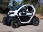 Renault Twizy Electric Minicar First Drive Report: Video