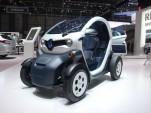 Renault Twizy Z.E. electric vehicle