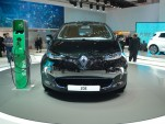 Renault ZOE electric car live photos