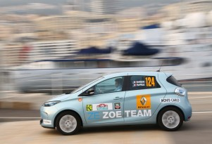 Monte Carlo Rally Goes Electric, Renault Zoe Takes Victory