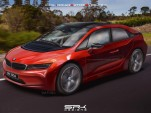 Rendering of BMW i5 electric crossover utility vehicle, from patent drawings [Indian Autos Blog]