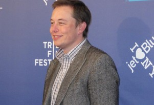 'Revenge of the Electric Car' premiere: Tesla Motors CEO Elon Musk on red carpet