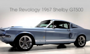 Revology builds a 1967 Shelby GT500 Ford Mustang