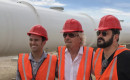 Richard Branson with Virgin Hyperloop One executives