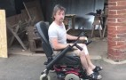 Richard Hammond has a modified wheelchair following Rimac wreck