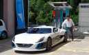 Richard Hammond with the Rimac Concept_One prior to his crash on June 10, 2017