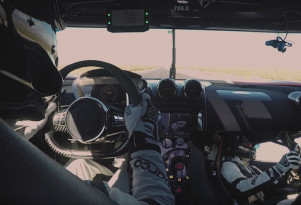 Ride along in a Koenigsegg Agera RS to 284 miles per hour