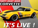 Ridetech Building Classic Corvette From Scratch In 48 Hours: Live Stream