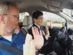 Riding in prototype autonomous Nissan Leaf electric car: what it's like (video)