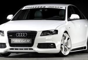Rieger Tuning Audi A4 debuts at Tuning World Bodensee