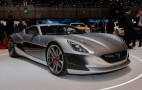 Rimac Concept_One electric supercar debuts in production trim, is joined by track-focused model
