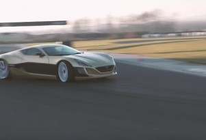 Rimac Concept_One has a drift setting in its traction control system