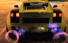 Underground Racing Lamborghini Gallardo Shoots Flames In HD, SloMo: Video