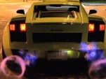 Robert Himler's Underground Racing Gallardo shoots flames
