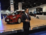Robert Parker talks about the 2012 Ford Focus at the 2011 Denver Auto Show