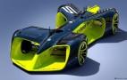 Roborace autonomous race car concept revealed