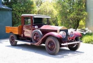 Rolls-Royce built a luxury car, rancher made it into a work truck | Bonhams photos