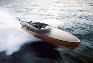 Rolls-Royce Merlin powered Aeroboat (Image: Claydon Reeves)