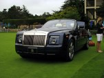 Rolls Royce Phantom with bespoke picnic set