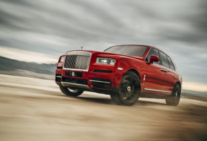 Rolls-Royce Cullinan makes US debut in Monterey