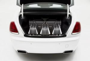 Rolls-Royce's new Wraith-inspired luggage set