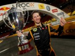 Romain Grosjean after winning the 2012 ROC - Image courtesy of Race Of Champions