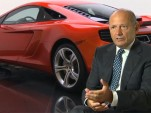 Ron Dennis and the McLaren MP4-12C