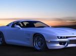 Rossi SixtySix split-window C2-styled C6 Corvette